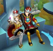 Queen Wasp and King Iron Man