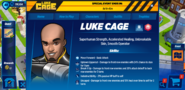 Luke Cage's Profile