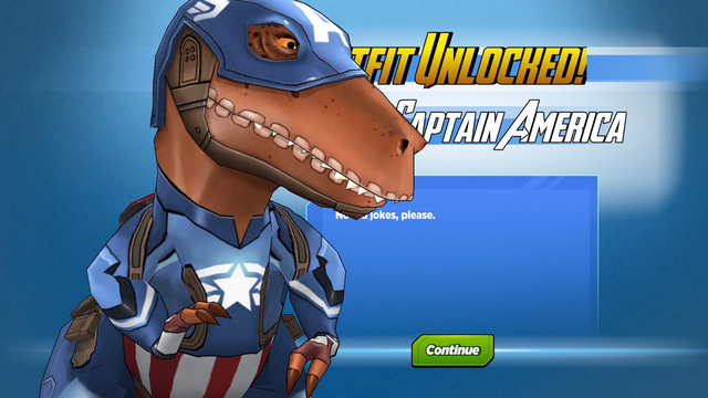File:Outfit Unlocked! Dinosaur Captain America.png