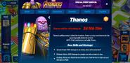 Thanos Combat Info