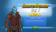 Character Upgraded! Yondu Rank 5