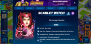 Scarlet Witch's Profile