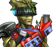 Teen Groot Rank 5 icon
