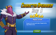 Character Upgraded! Baron Zemo Rank 5