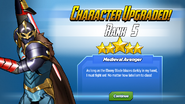 Character Upgraded! Black Knight Rank 5