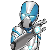 Pepper Potts Arctic Armour Icon
