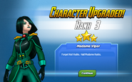 Character Upgraded! Madame Hydra Rank 3