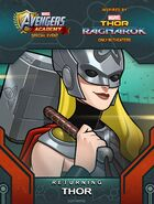 Returning Hero Thor Ragnarok event Thor Jane