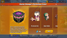 Doctor Stranges Mysterious Crate