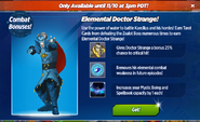 Elemental Doctor Strange Requirements