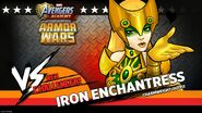 Iron Enchantress Armor Wars
