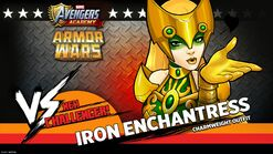 Iron Enchantress Armor Wars