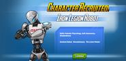 Character Recruited! Iron Legion Robot