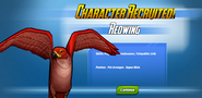 Character Recruited! Redwing