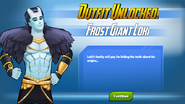 Outfit Unlocked! Frost Giant Loki