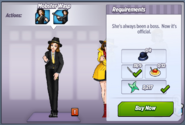 Mobster Wasp Outfit