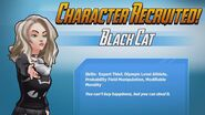 Character Recruited Black Cat