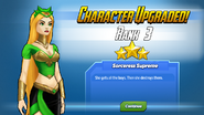 Character Upgraded! Enchantress Rank 3