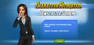 Character Recruited! Newscaster Supreme