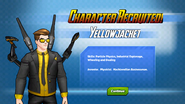 Character Recruited! Yellowjacket