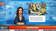 World News AIM robot defeat