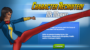 Character Recruited Ms. Marvel