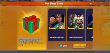 Pet Shop Crate