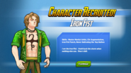 Character Recruited Iron Fist