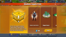 Gladiator Supply Crate