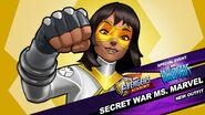 New Outfit Inhumans Event Secret War Ms. Marvel