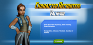 Character Recruited! Valkyrie