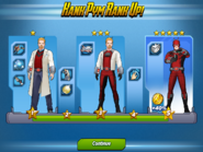 Hank Pym Ranks