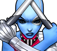 Nebula (Earth-TRN562) from Marvel Avengers Academy 001