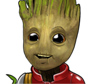 Groot (Past) (Earth-TRN562) from Marvel Avengers Academy 005