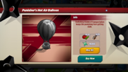 Punisher's Hot Air Balloon Info