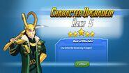 Character Upgraded! Loki Rank 5