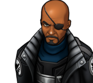 Nick Fury Rank 3 icon