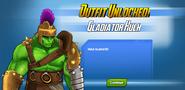 Outfit Unlocked! Gladiator Hulk