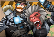 Howling Commandos (S.H.I.E.L.D.) (Earth-TRN562) from Marvel Avengers Academy 001