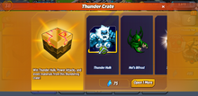 Thunder Crate
