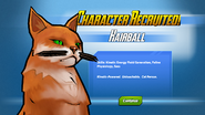Character Recruited! Hairball