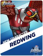 New Recruit Pet Avengers Event Redwing