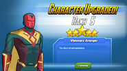 Character Upgraded! Vision Rank 5