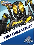 Returning Hero Pet Avengers Event Yellowjacket