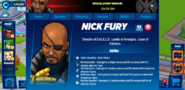 Nick Fury Profile