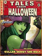 New Outfit Halloween 2017 Event Roller Derby She-Hulk