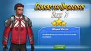 Character Upgraded! Falcon Rank 3