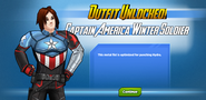 Outfit Unlocked! Captain America Winter Soldier