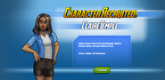 Character Recruited! Claire Temple