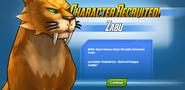 Character Recruited! Zabu